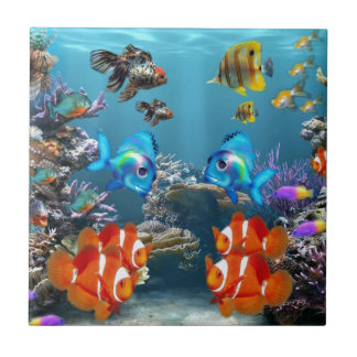Aquarium-Art Fliese
