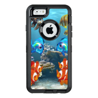 Aquarium-Meereswelt OtterBox iPhone 6/6s Hülle
