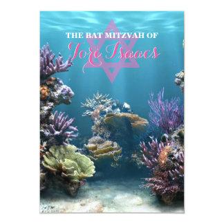 Aquarium-Schläger Mitzvah Einladung