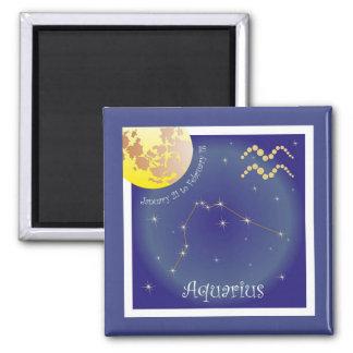 Aquarius January 21 to February 18 Magnet