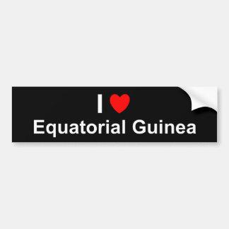 Äquatoriale Guinea Autoaufkleber