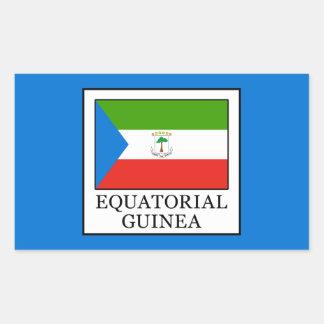 Äquatoriale Guinea Rechteckiger Aufkleber