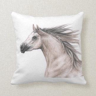 Araber Portrait - Arabian Horse Kissen