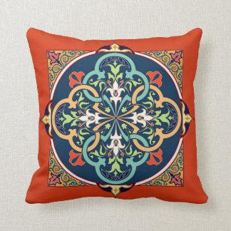 Arabeske-Islam-persische Kunst-dekoratives Kissen