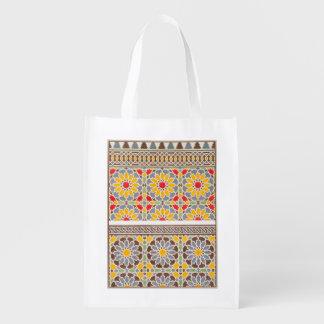 Arabesken Cheykhoun Markt-Taschen Tragetaschen