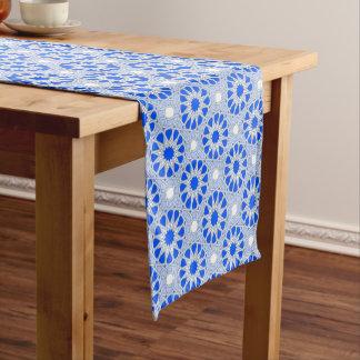 Arabica-Blau Kurzer Tischläufer
