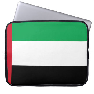 Arabische Emirate-Flagge Laptopschutzhülle