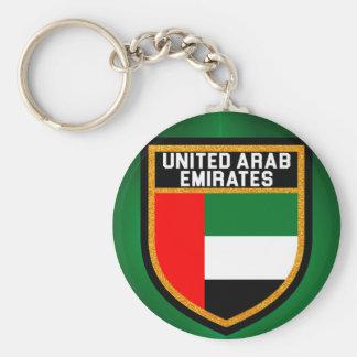 Arabische Emirate-Flagge Schlüsselanhänger