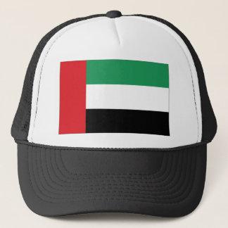 Arabische Emirate-Flagge Truckerkappe