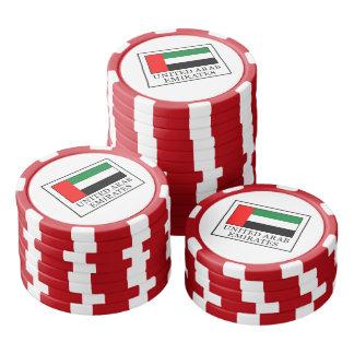 Arabische Emirate Poker Chips Set
