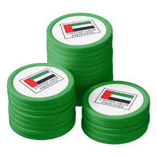 Arabische Emirate Pokerchips