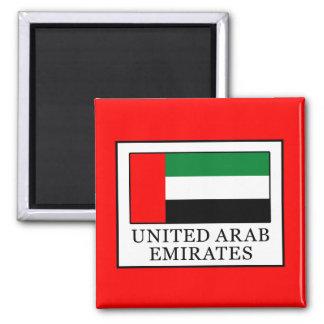 Arabische Emirate Quadratischer Magnet