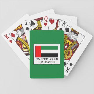 Arabische Emirate Spielkarten