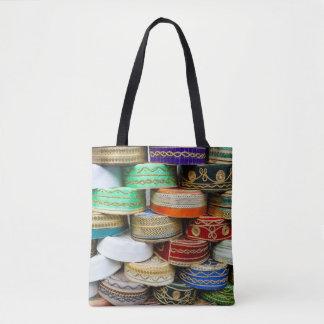 Arabische Kappen am Markt Tasche