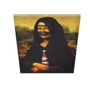 Arabische Mona Lisa Leinwanddruck