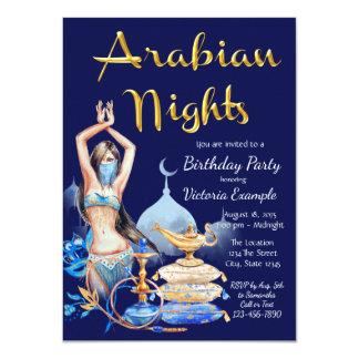 Arabische NachtParty Einladung