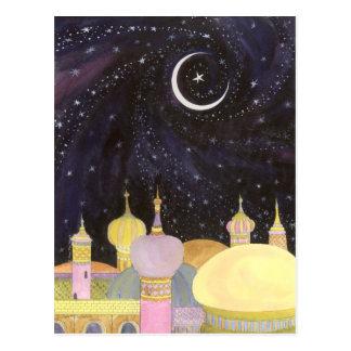 Arabische Nachtpostkarte Postkarte