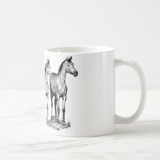 Arabische Pferde Kaffeetasse