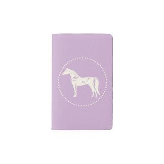 Arabische PferdeSilhouette Moleskine Taschennotizbuch