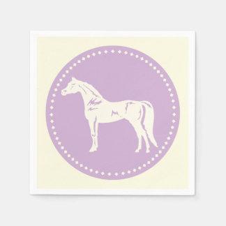 Arabische PferdeSilhouette Papierserviette