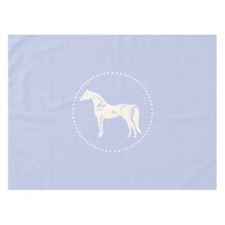 Arabische PferdeSilhouette Tischdecke
