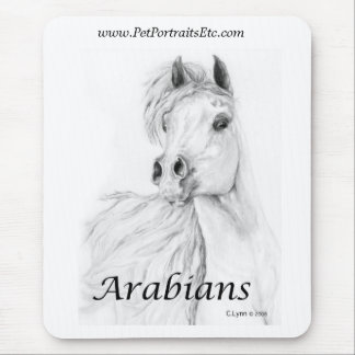 Arabisches Pferd Mousepads