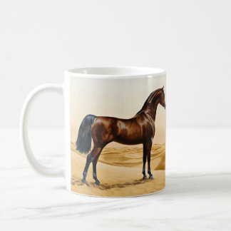 Arabisches Pferd - William Barraud Kaffeetasse