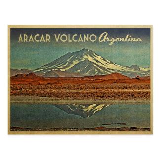 Aracar Vulkan Argentinien Postkarte