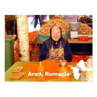 Arad, Rumänien Postkarte