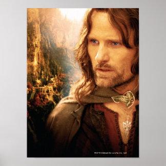 Aragorn und Rivendell Zusammensetzung Poster
