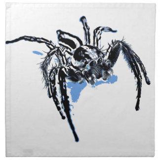 Aranha azul Blaue Spinne Blaue Spinne Araignée ble Serviette