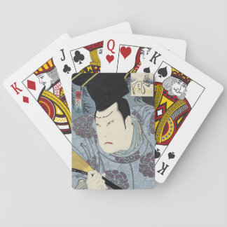 Arashi Rikan III Japaner Woodblock Druck Spielkarten
