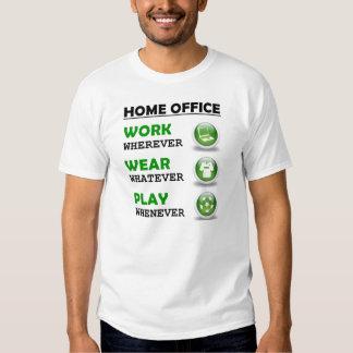 Arbeit vom Zuhause-Büro-lustigen Zitat Hemden