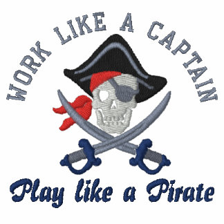 Arbeit wie eine Stickerei Kapitän-Play Like A Polo Hemd