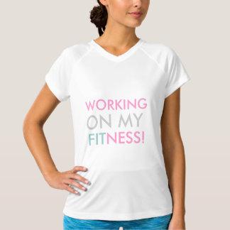 Arbeiten an meinem Fitnesst-stück T-Shirt