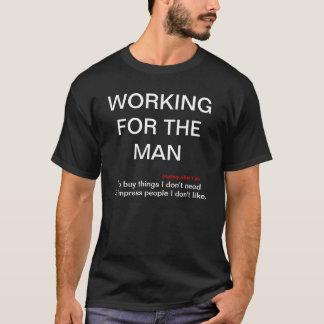 Arbeiten für das dunkle T-Shirt Baumwolle des