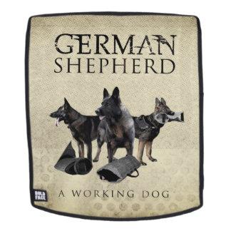 Arbeitender Schäferhund-Hund - GSD Rucksack
