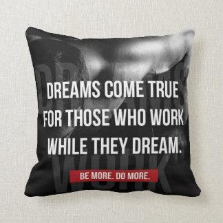 Arbeitenschwer - Träume kommen wahr - Turnhalle Kissen