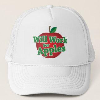 Arbeitet für Äpfel Truckerkappe