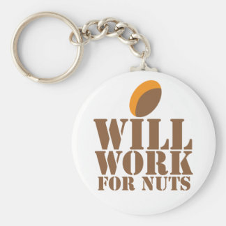 Arbeitet für NÜSSE Schlüsselanhänger