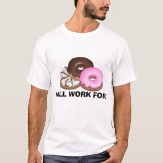 Arbeitet für Schaumgummiring-T - Shirt