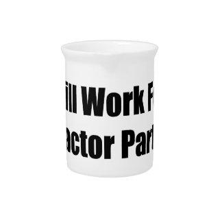 Arbeitet für Traktor-Teil-Traktor-Geschenke durch Getränke Pitcher