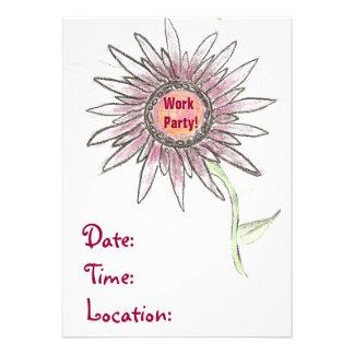 Arbeits-Party Einladungen