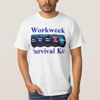 Arbeits-Woche/Platz-Überlebensausrüstung Hemden