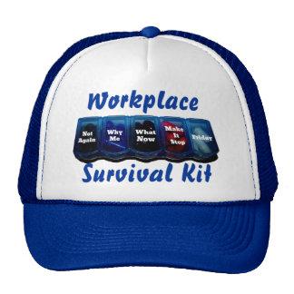 Arbeits-Woche/Platz-Überlebensausrüstung Truckermützen