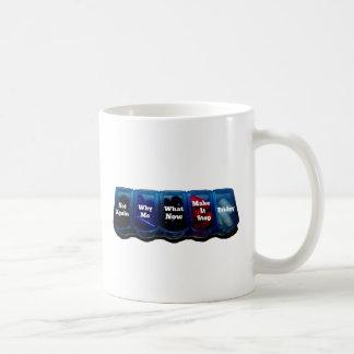Arbeits-Woche/Platz-Überlebensausrüstung Kaffee Tassen