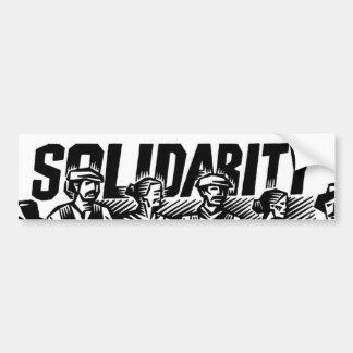 Arbeitskraft-solidaritäts-Autoaufkleber Autoaufkleber