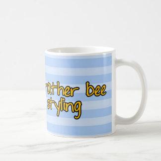 Arbeitskraftbiene - Friseur Kaffeetasse