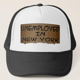 ARBEITSLOSE IN NEW YORK TRUCKERKAPPE