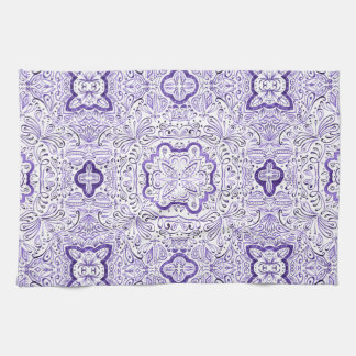 Arbella lila Wasserfarbe-Tee-Tuch Geschirrtuch